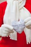 Сердце петь. Стоковые Фото