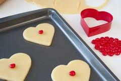 сердце печений Стоковые Изображения RF