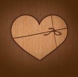 сердце подарка Стоковые Изображения RF