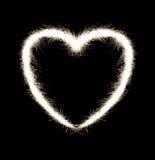 сердце пожара Бенгалии Стоковые Изображения RF