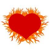 сердце пожара Стоковые Изображения