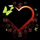 сердце пожара Стоковые Изображения RF