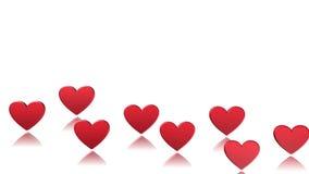 Сердце, предпосылка, анимация акции видеоматериалы