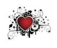 сердце предпосылки ретро бесплатная иллюстрация