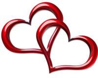 сердце предпосылки Стоковые Изображения