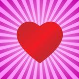сердце предпосылки Стоковое Изображение