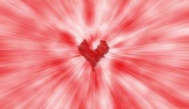 сердце предпосылки иллюстрация вектора