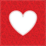 сердце предпосылки Стоковое Изображение RF