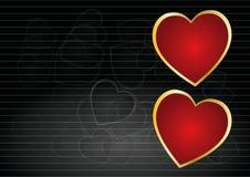 сердце предпосылки Стоковые Изображения RF