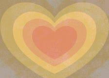 Сердце радуги иллюстрация вектора