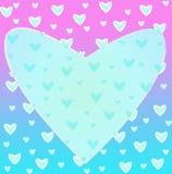 Сердце рамки Стоковые Изображения