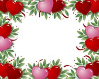 сердце рамки иллюстрация вектора