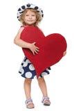 Сердце ребенка - призрение Стоковая Фотография