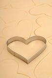 сердце резца печенья Стоковые Изображения
