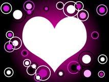 сердце ретро Стоковое фото RF