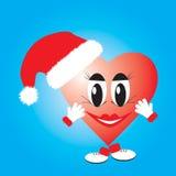 сердце рождества иллюстрация штока