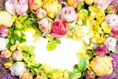 Сердце роз Стоковая Фотография