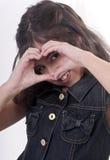 сердце руки Стоковое Изображение