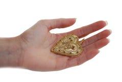 сердце руки Стоковая Фотография RF