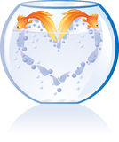 сердце рыб Стоковые Фото