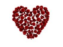 сердце сделало малые сферы Стоковое Фото