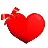 Сердце, сердца, красный цвет, влюбленность иллюстрация штока