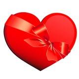 Сердце, сердца, смычок Стоковые Фотографии RF