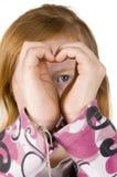 сердце смотря ваш Стоковые Изображения RF