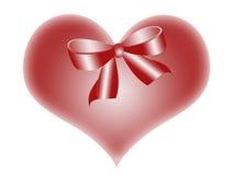 сердце смычка Стоковые Фото