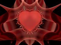 Сердце терниев Стоковая Фотография