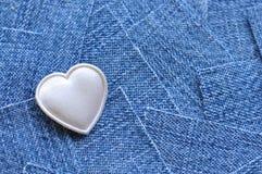 Сердце ткани стоковое фото
