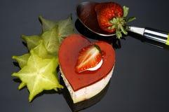 сердце торта Стоковые Изображения