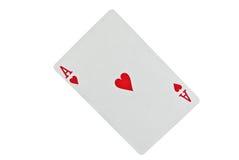 сердце туза Стоковая Фотография RF