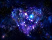 сердце тумана Стоковая Фотография RF