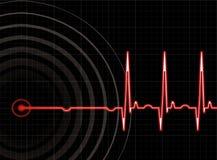 сердце удара Стоковая Фотография
