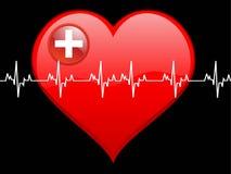 сердце удара Стоковые Изображения RF