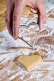 сердце форменное v4 gouge Стоковое Изображение RF