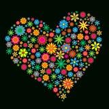 сердце цветка Стоковые Фотографии RF