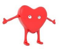 сердце шаржа Стоковое Изображение RF