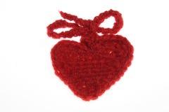 сердце шерстяное Стоковые Изображения RF