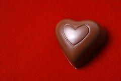 сердце шоколада Стоковое Изображение RF