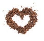 сердце шоколада Стоковые Фото