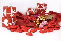 сердце шоколадов малое Стоковые Фото