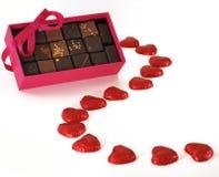 сердце шоколадов малое Стоковое Фото