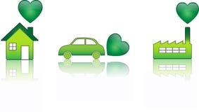 сердце экологичности Стоковые Изображения RF