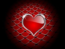 сердце элемента казино Стоковое фото RF