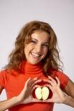 сердце яблока Стоковая Фотография RF