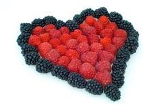 сердце ягод стоковые изображения rf