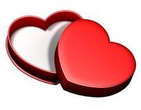 сердце 2 коробок Стоковые Изображения RF