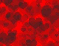 сердце boheh предпосылки красивейшее Стоковые Фотографии RF